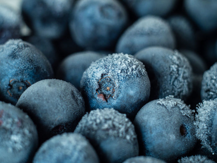 Healthy Breakfast: Close up of frozen blueberries, macro shot, top view Blueberry Breakfast Frozen Food Vegan Fruit Antioxidant Food And Drink Food Full Frame Close-up Freshness Backgrounds No People Wellbeing Indoors  Healthy Eating Large Group Of Objects Berry Fruit Abundance Selective Focus Heap Textured  Still Life Studio Shot Navy Blue Snack Ripe Purple Temptation