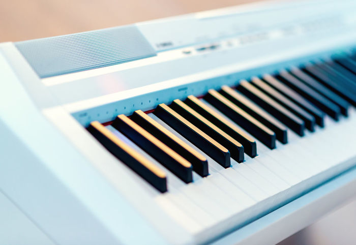 Electric piano close-up Audio Electric Modern Music Piano Chord Close-up Device Digital Keyboard Instrument Midi Music Musical Instrument Musical Instruments No People Octave Piano Key Professional Synthesizer Technology