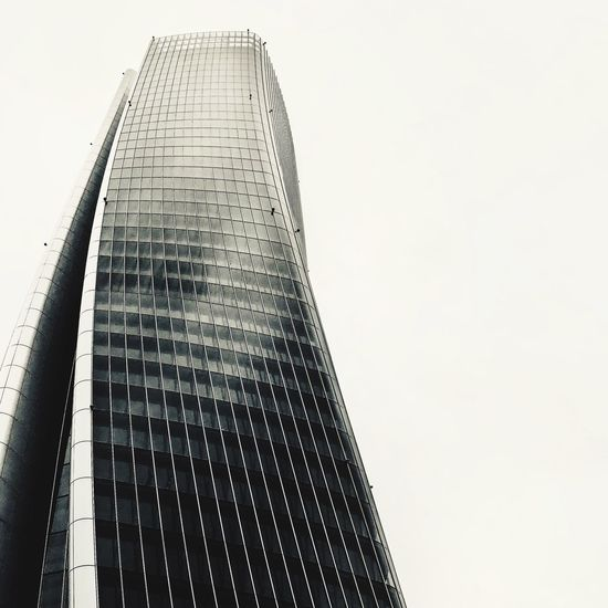 Milano Sky Architecture Built Structure Low Angle View Tall - High Building Exterior Clear Sky