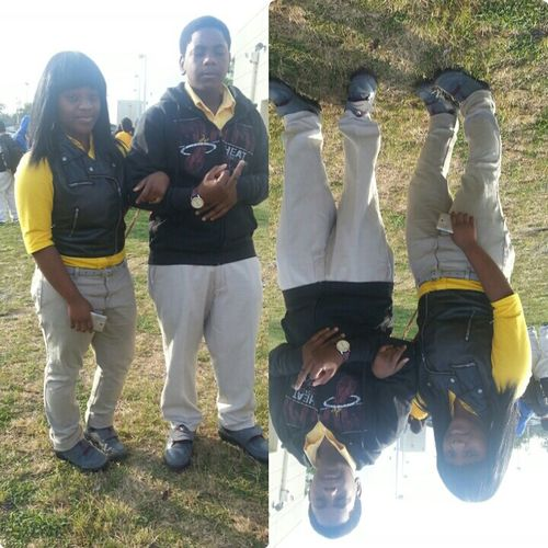 Me And My Brutha Today Thoo :)