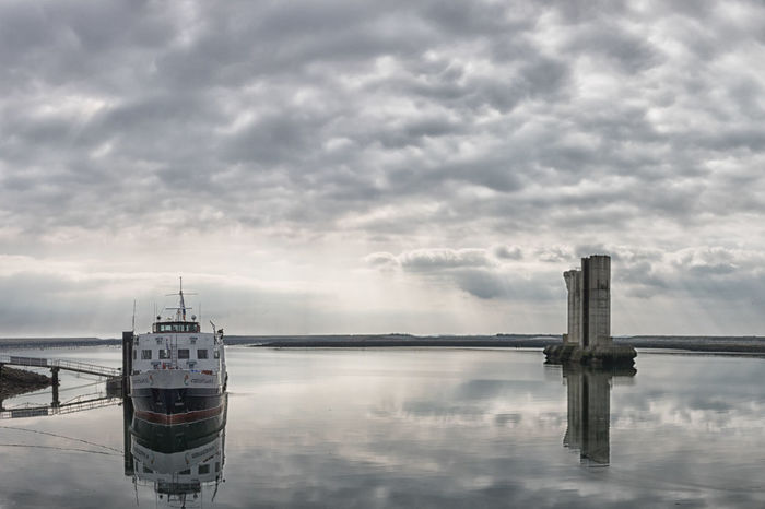 Architecture Boat Built Structure Cloud - Sky Day Nature Nautical Vessel No People Outdoors Reflection Scenics Sea Ship Sky Tranquility Transportation Water Waterfront