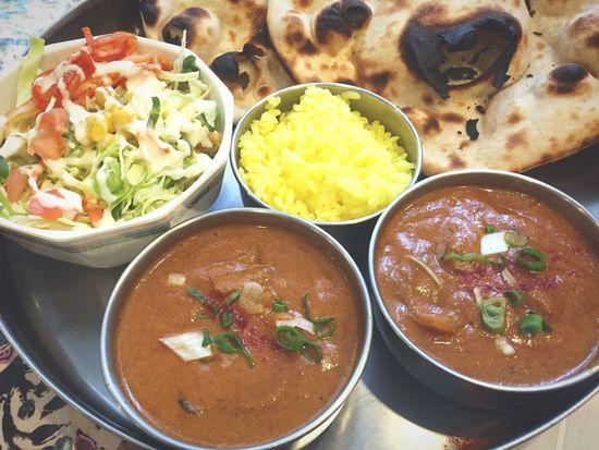 今年初のRoopali♬ ひよこ豆とシーフードカレー ランチ インドカレー カレー Curry Food
