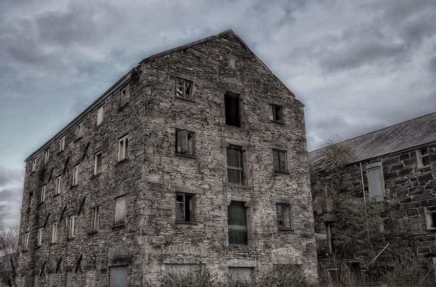 Mill Porthmadog Northwales Dramatic Abandoned