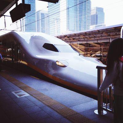 Train Train Station Shinkansen Speed