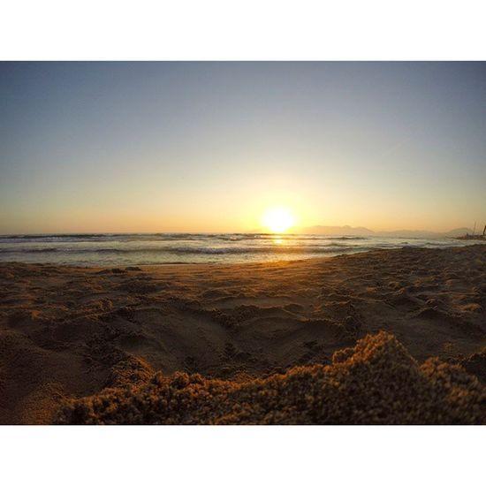 Summer2014 Sea Sunset Beach Italy Campania Eboli
