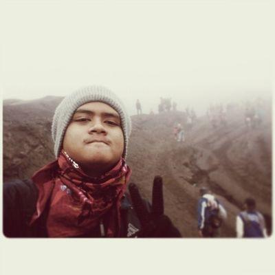 me Selfie at Bromo INDONESIA