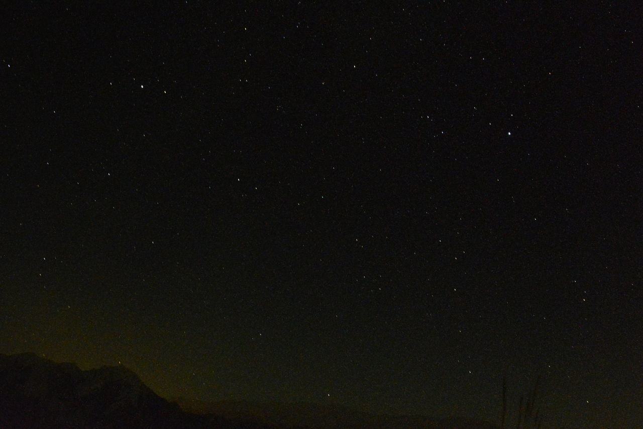 Low Angle View Of Star Field In Sky At Night