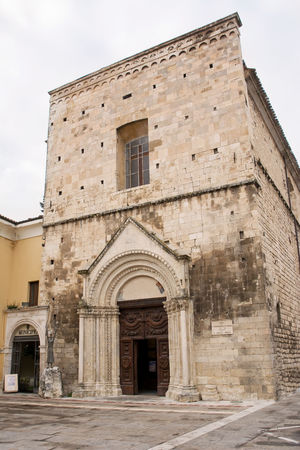 Church of St. Francesco in Guardiagrele (Abruzzo-Italy) Abruzzo Architecture Chieti Church Francesco Guardiagrele Holy Italian Italy Portal Town Village