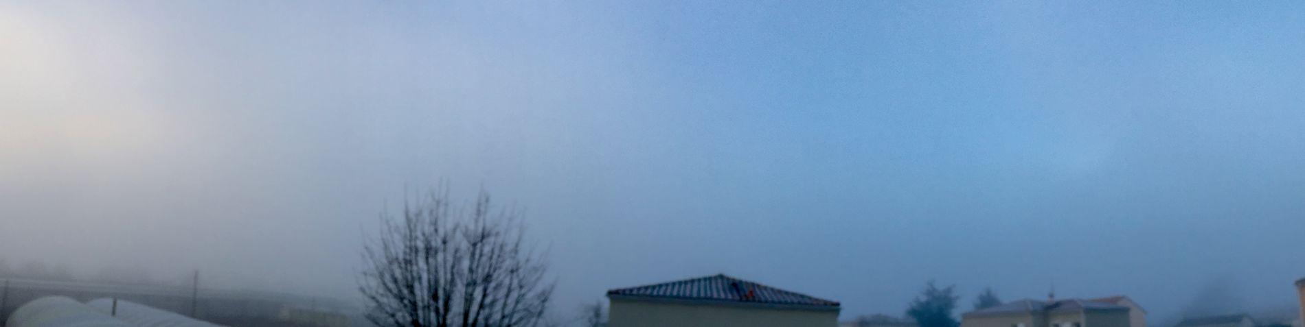 Dans le brouillard ce matin ?☁️☁️☁️ France Nature Charente CIELFIE