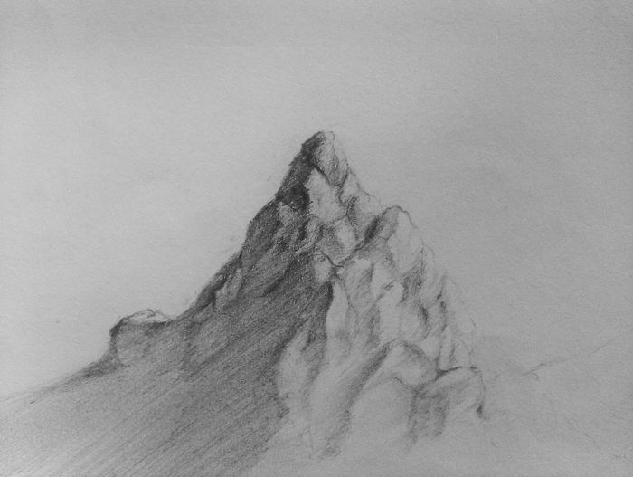 Drawing Drawing ✏ Learning To Draw Mountain Not For Sale Pencil Pencil Drawing Sketching