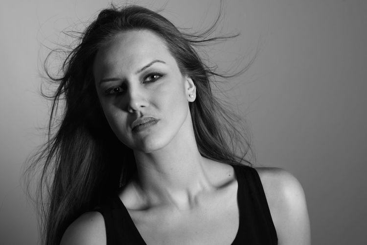 Adult Adults Only Beautiful Woman Beauty One Person One Young Woman Only Only Women People Portrait Studio Shot Young Adult Young Women Adult Adults Only Beautiful Woman Human Body Part Model One Woman Only One Young Woman Only Only Women People Photography Photooftheday Portrait Portrait Of A Woman Portraits Young Adult Young Women Belgrade Blackandwhite Model Monochrome Noir Photooftheday Photoshoot Portrait Pretty SerbianGirl Studio Shot