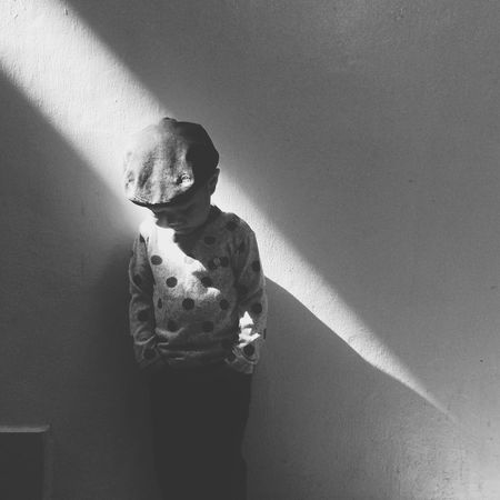 Black And White Friday Three Quarter Length Standing Real People Shadow One Person Lifestyles Leisure Activity Sunlight Indoors  Day Young Adult People EyeEm Ready   The Still Life Photographer - 2018 EyeEm Awards