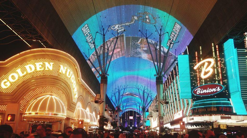 Vegas  Fremont FremontStreet Fremontstreetexperience Colors Color Explosion Lights