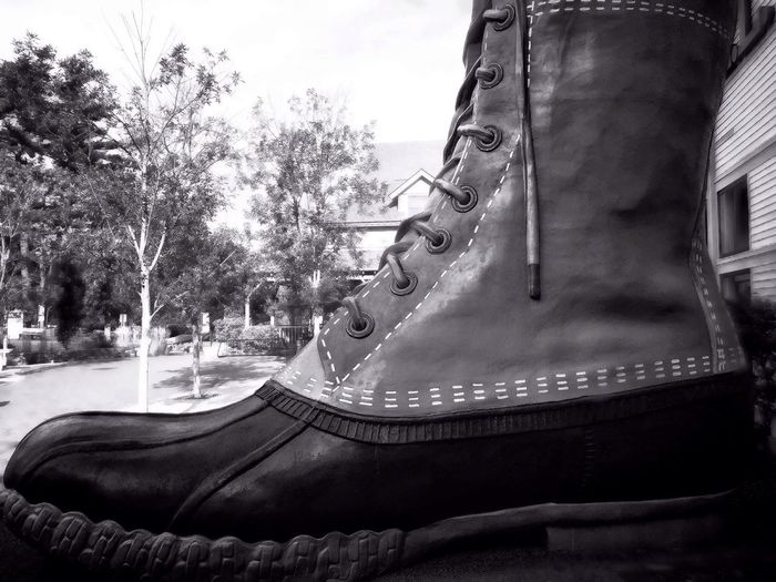 Monochrome Photography The Boot