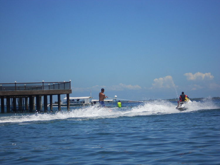 water sports Beauty In Nature Clear Sky Horizon Over Water Jetskiing Leisure Activity Lifestyles Men Scenics Sea Water Waterfront