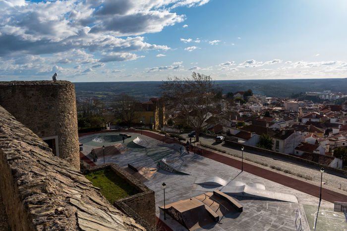 Castle of Abrantes Portugal Architecture Building Exterior Built Structure Day House No People Outdoors Roof Sky