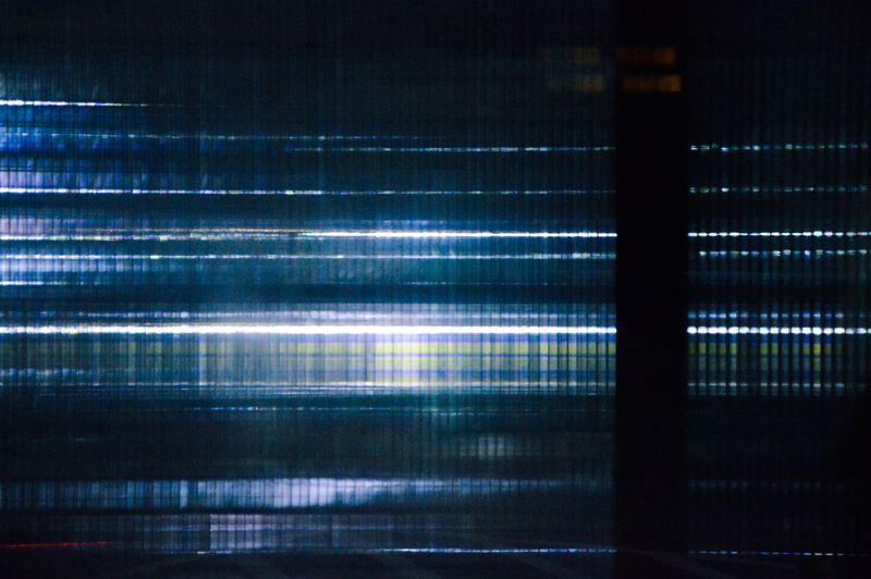 Abstract image of illuminated light