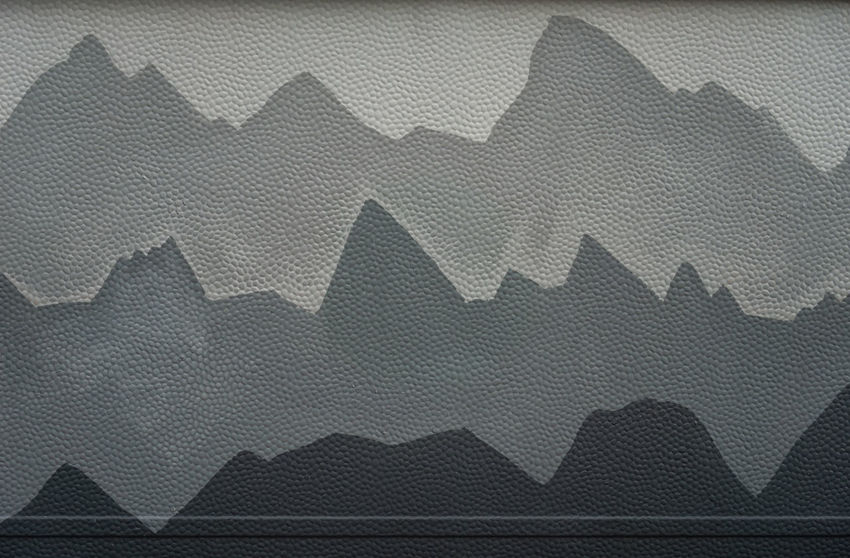 The problematic moutains Perspective Abstract Backgrounds Black Color Building Exterior Camper Close-up Day Full Frame Indoors  Jagged No People Painted Image Painting Pattern Staggered Textile Textured