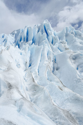 Glaciar Perito Moreno Ice Tourist Attraction  Trekking Winter Glacial Mountain Snow Snowcapped Mountain Tourism Tourist Destination TrekkingDay