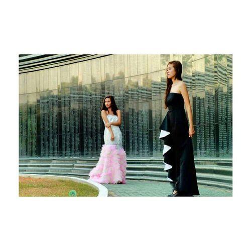 FashionPhotograhy ModelsAyaBalanaAndIsabellaSecillano HairAndMakeUpbyAya GownMarlonTuazon