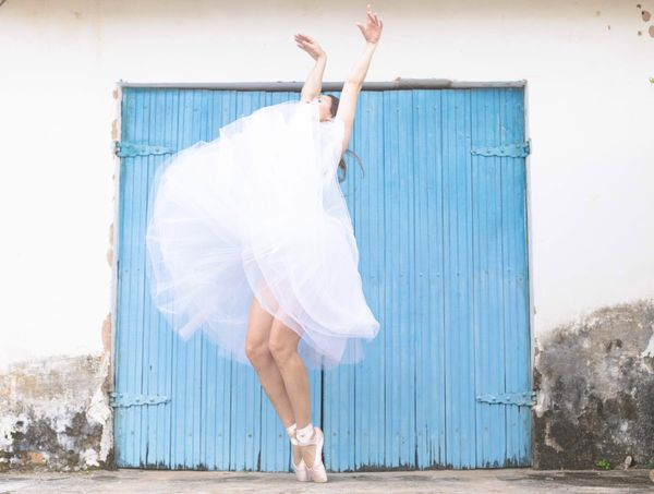 The beauty Beauty Beautiful Dance Dancer Dancing Ballett Ballerina Dreaming White Blue