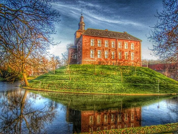 Hdr_Collection Hdr_oftheworld Myhdrworld Architecture Castle Of Schimmert Water Reflections Buildings & Sky Architecturelovers Lovelynatureshots