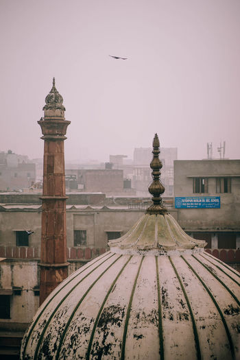 Delhi Rooftops ASIA Ancient Architecture Asian  City Delhi Aerial Architectural Architecture Bird Brick Building Building Exterior Built Structure Capital City Clear Sky Culture Day Design Fashioned No People Outdoors Sky Travel Destinations