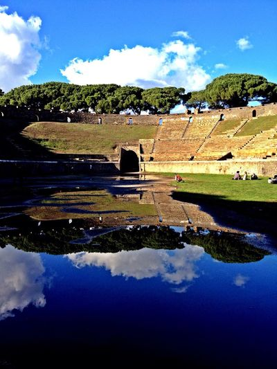 My Best Photo 2014 pompei stadium
