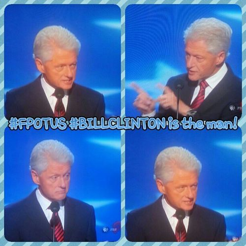 FPOTUS Billclinton The man can speak!