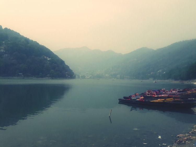 Nainital India Uttrakhand Lakes  Lakesideview Beauty In Nature Awesome_nature_shots