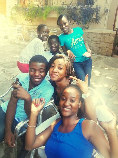 THESE Are My Friends Enjoying Life A Moment For Life Haitiens 2015  G8