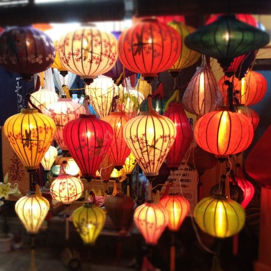 From when we travelled through Vietnam Paperlanterns in beautiful Hoi An Travel Adventure NewYear