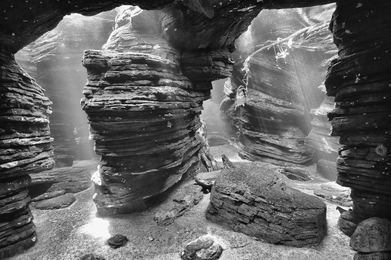 solid, no people, rock, rock formation, rock - object, physical geography, geology, nature, beauty in nature, day, travel destinations, outdoors, travel, land, tranquility, non-urban scene, tourism, water, scenics - nature, eroded