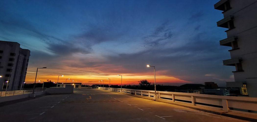 Top of car park