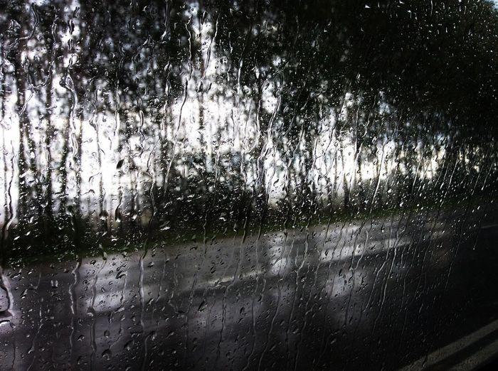 Rain Dropsonmywindow Drops Window Inside Car