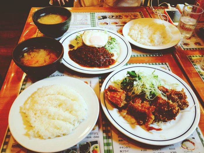 Japanese Food TofuMisoSoup Fried Chicken A Taste Of Life Ultimate Japan