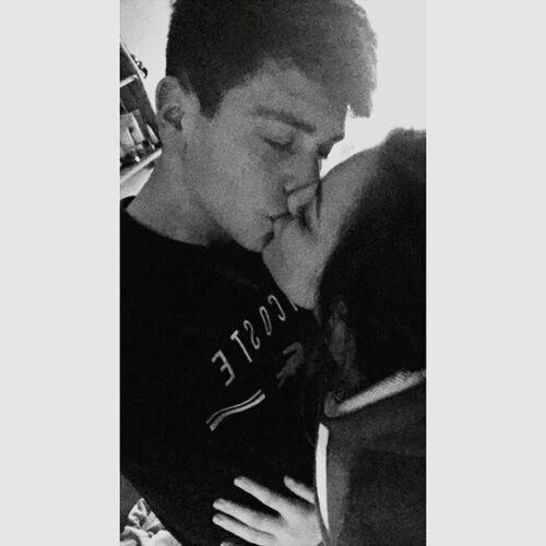 Love u 😍💞💟💖💕 My Boyfriend ❤ Couple Love Kiss Bae  Forevertogether <3
