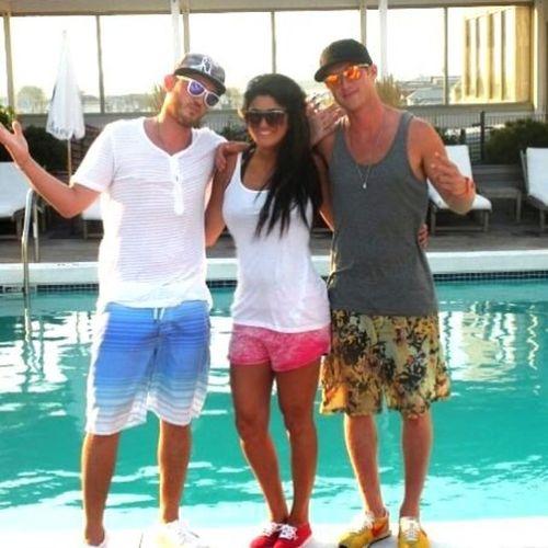 TBT  Summer Poolside Chelseahotel nextlevelforever @tovatots @shawnmorton