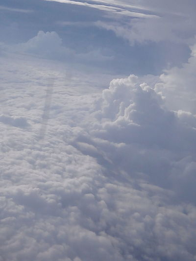 Picture Taken from Aircraft in monsoon Aerial View Beauty In Nature Cloud Cloud - Sky Cloudscape Cloudy Sky Weather White