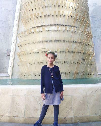 Sara & Fountain