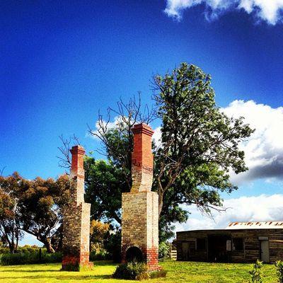 Memories of another time #dilapidated #bricks #chimney #bygone_era #drysdale #myhometown #bellarine #sunny_days Chimney Bricks Dilapidated Drysdale Bellarine Sunny_days