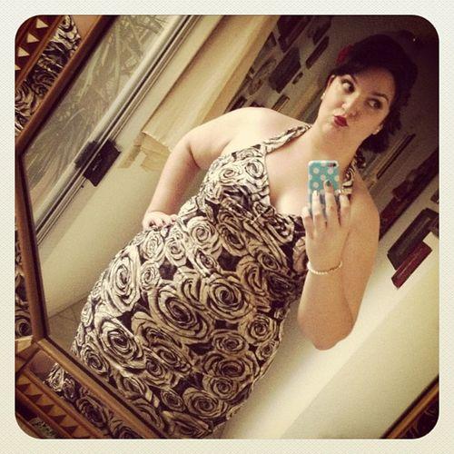Hello do you think @predzridez will like my outfit? ???? Pinupgram Pinup Retro rockabilly redlips