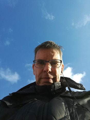 Thats me. Only Men One Man Only One Person Sky Headshot Adults Only One Mature Man Only Eyeglasses  Front View Cloud - Sky People Mature Adult Adult Mature Men Portrait Day Men Close-up Outdoors Golfer