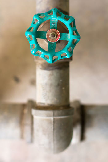Water valve Industry Valve Close-up Day Detail Focus On Foreground Metal No People Outdoors Valve Cap Water Valve
