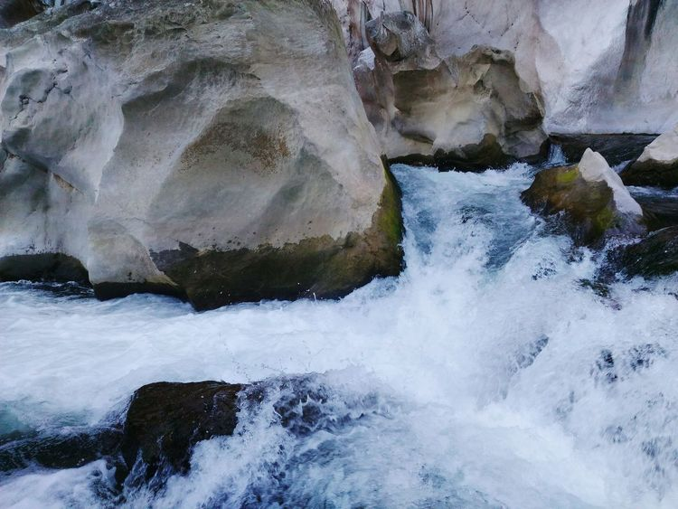 Rock - Object Water Nature Geology Beauty In Nature Textured  No People Outdoors Motion Power In Nature Day Close-up TinipakRiver Philippines The Great Outdoors - 2017 EyeEm Awards Lost In The Landscape