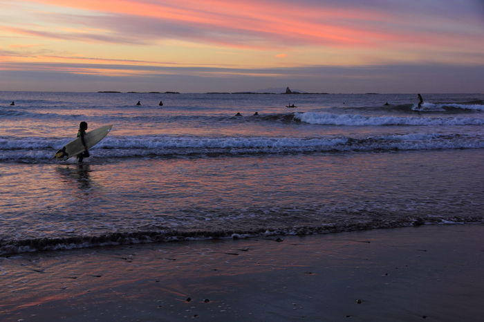 Beach Dawan Dawn Of A New Day Morning Dawn Ocean Sea Seascape Surf Surfer