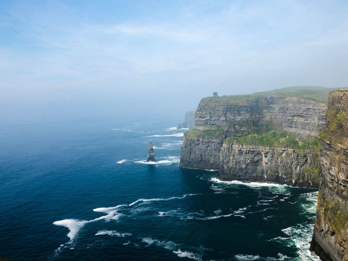 Cliffs of Moher Cliffs Of Moher  Ireland Water Sea Beauty In Nature Scenics - Nature Nautical Vessel Day Nature Blue Sky Rock Outdoors Idyllic