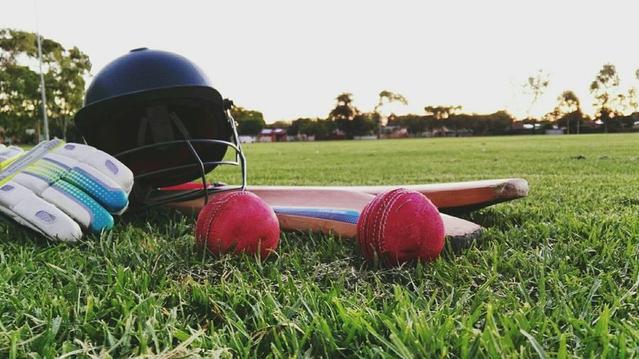 Grass Tree Sport Nature Day No People Outdoors Headwear Leisure Games Cricket Field