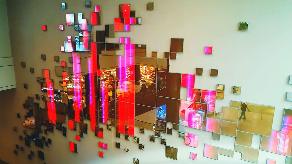 Lights Multi Colored Large Group Of Objects Colorful Vibrant Color Hanging Art And Craft Collection Creativity Complexity Screens Screen Light Mirrors BigMirror Bigthings BigScreen