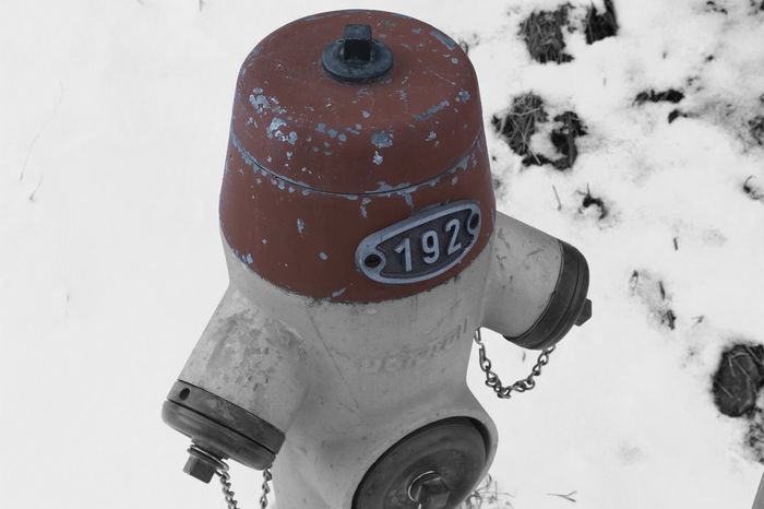 Cold Temperature FireFighting  Hydrant Hydrants Low Color Vintage Winter Fireplug Firehydrant Snow Wintertime No People Firefighter Equipment Iron Metal Nature